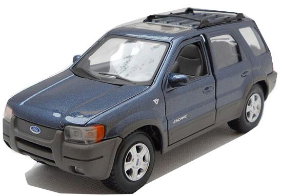Blue 1:24 Scale MaiSto Diecast Ford Escape Model