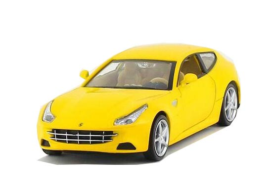 1:32 Scale Red / Blue / Yellow Diecast Ferrari FF Toy