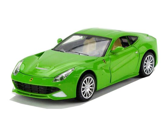 Red / Green / Yellow / Black 1:32 Scale Diecast Ferrari F12 Toy