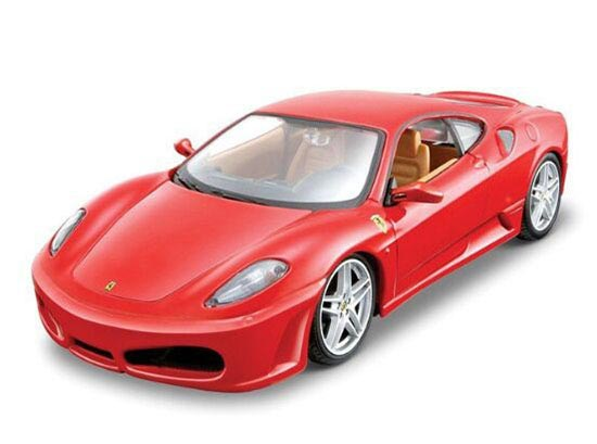 MaiSto Red 1:24 Scale Assembly Diecast Ferrari F430 Model