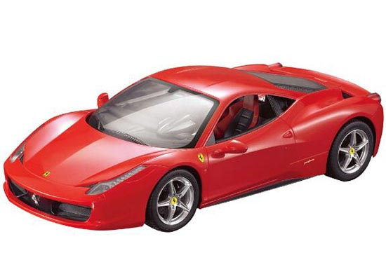 1:14 Scale Kids Red / Yellow R/C Ferrari F458 Toy