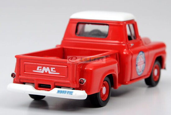 Red 1:64 Scale Diecast 1958 GMC Pickup Truck Toy ...