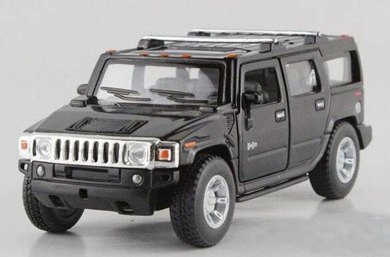 Kids White / Black / Red / Yellow Diecast Hummer H2 Toy