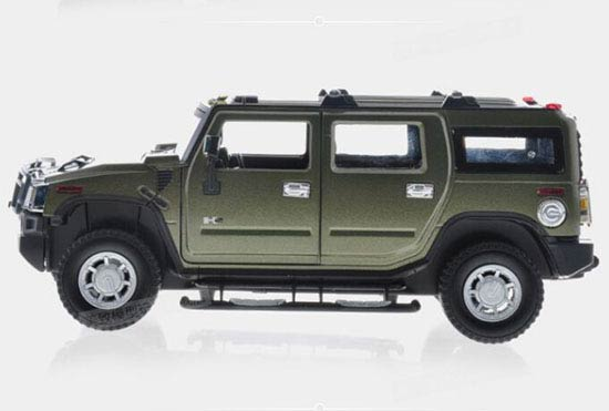 1:24 Scale Blue / Red / Army Green Kids R/C Hummer H2 Toy
