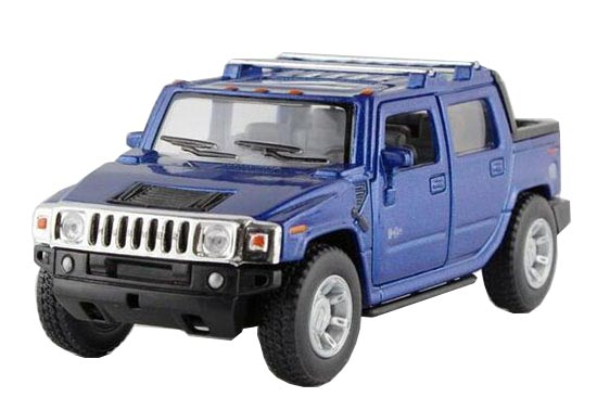 Kids Yellow / Red / Blue / Black Diecast Hummer H2 Pickup Truck