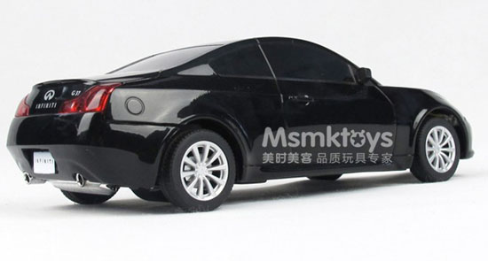 1:24 Scale Kids Black / Red / Silver R/C Infiniti G37 Toy