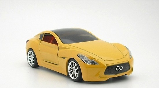 1:32 Scale Black /Red /White /Yellow Diecast Infiniti Essence