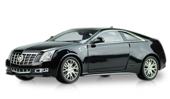 Black /Silver 1:18 Scale Kyosho Diecast Cadillac CTS Coupe Model