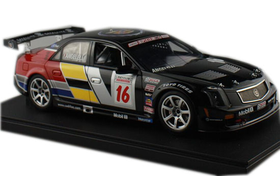 Black 1:18 Scale AUTOart NO.16 Diecast Cadillac CTS-V Model