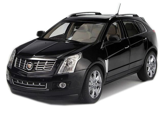 Black / White 1:18 Scale Diecast Cadillac SRX Model