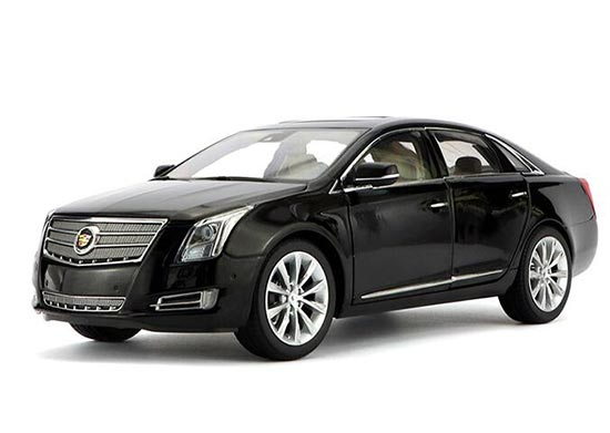 Black Gray 1 18 Scale Diecast Cadillac Xts Model