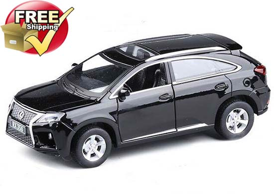 Black / White / Red Kids 1:32 Scale Diecast Lexus RX350 Toy