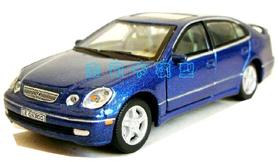 Blue Cararama 1 43 Scale Diecast Lexus Gs300 Model
