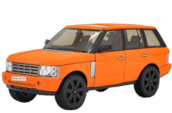 White /Black /Silver /Orange 1:18 Diecast Range Rover Model