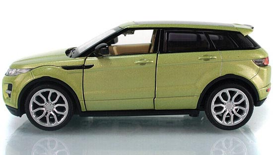 1:32 Scale Kids Green / White / Red /Blue Range Rover Evoque Toy