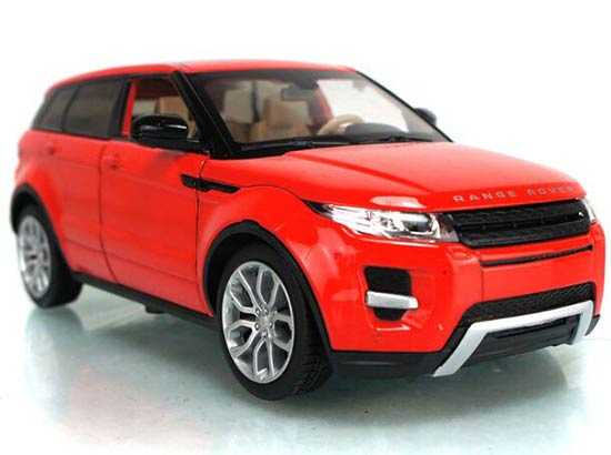 1 24 Scale Green Red Diecast Range Rover Evoque Model