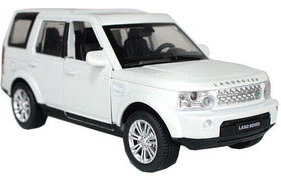 1:32 Scale White / Silver / Black Diecast Land Rover Discovery