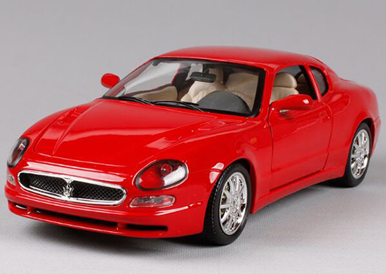 1:18 Scale Black / Red Bburago Diecast Maserati 3200GT COUPE