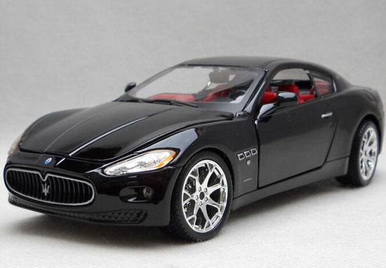 Black Silver 1 24 Scale Bburago Diecast Maserati