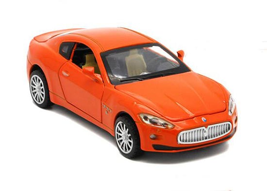 1:32 Scale Red / White / Orange / Yellow Diecast Maserati Car