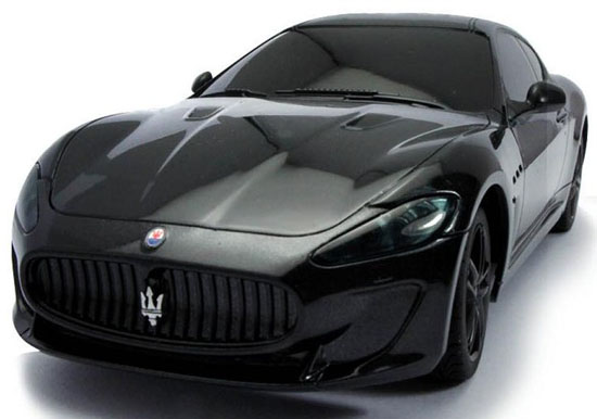 1:24 Scale Black Kids R/C Maserati GranTurismo Toy