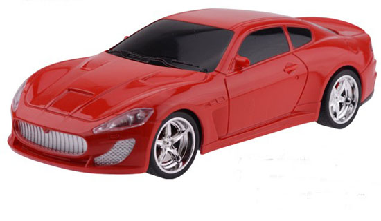White / Red / Black Kids 1:18 Scale R/C Maserati GranTurismo