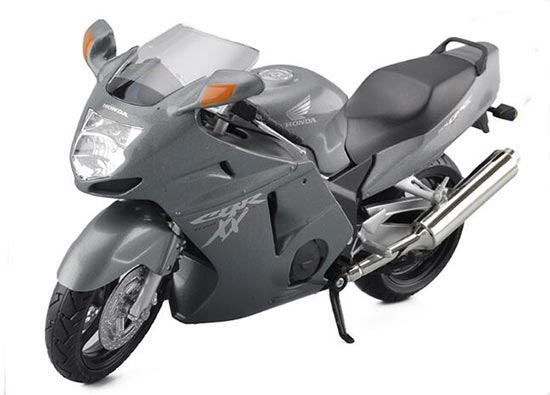 1:12 Scale Kid Gray / Black / Red Honda CBR1100XX Motorcycle Toy