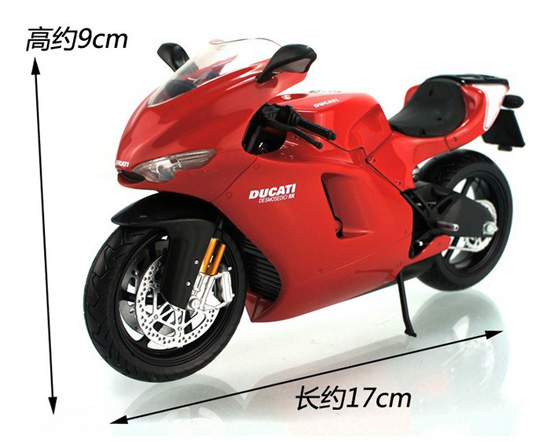 1:12 Red / Red-White DUCATI Desmosedici RR GP Motorcycle Toy