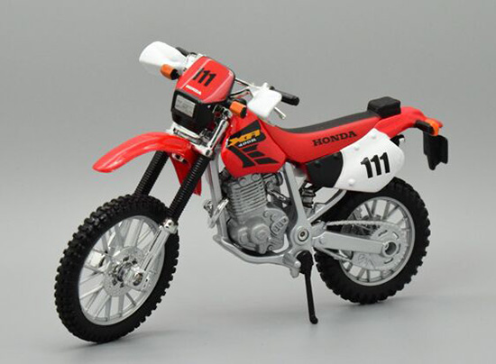 Kids 1 18 Scale Red Honda Xr400r Motorcycle Toy Mt08t0023