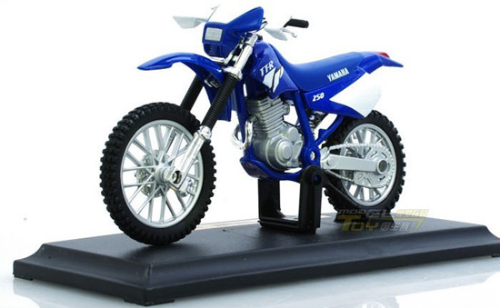 1:18 Scale Blue Kids Yamaha TT-R250 Motorcycle Toy