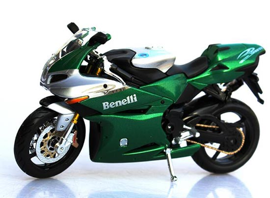 1 12 Scale Green Kids Benelli Tornado Tre 1130 Motorcycle