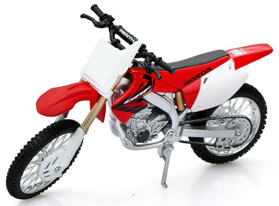1:12 Scale Red HONDA CRF450R Motorcycle Toy