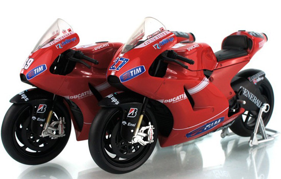 1:12 Scale Kids Red DUCATI Desmosedici Motorcycle Toy