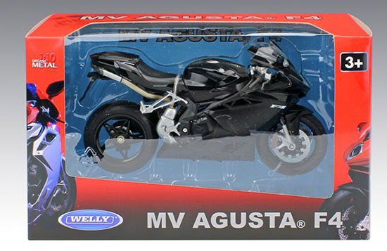 1:10 Scale Red / Black Kids MV AGUSTA F4 Motorcycle Toy