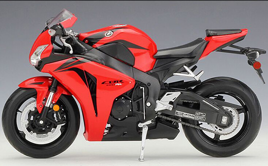 1:10 Scale Red Kids Welly HONDA CBR1000RR Motorcycle Toy