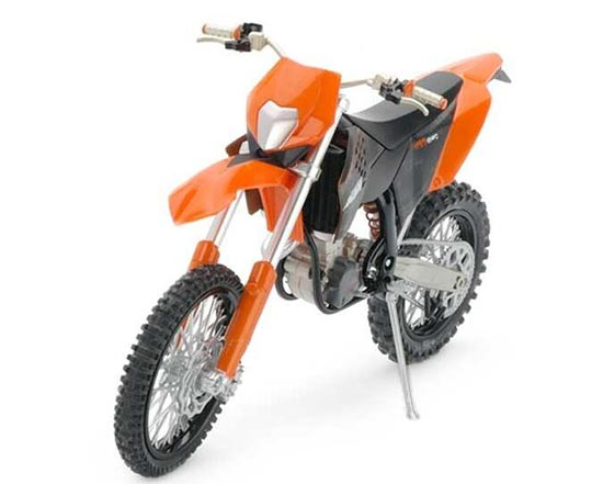 1:12 Scale Diecast KTM 450 EXC Motorcycle Model