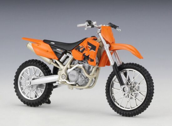 Welly 1:18 Scale Diecast KTM 450 SX Racing Motorcycle Model