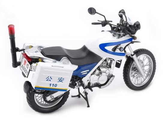 Yellow / Red / Blue 1:12 Scale Diecast BMW F650GS Motorcycle