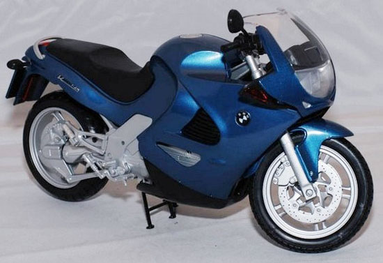 Blue 1 6 Large Scale Diecast Bmw K1200rs Motorcycle Model Mt08t0080 Vktoybuy Com