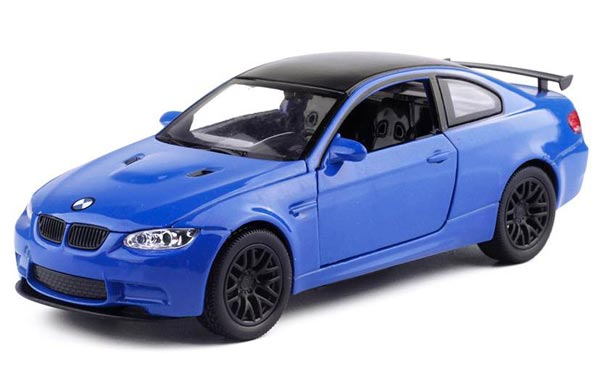 1:32 Scale White / Orange / Blue Kids Diecast BMW M3 GTS Toy