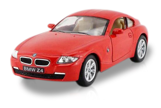1:36 Scale Blue / Black / Silver / Red Diecast BMW Z4 Toy
