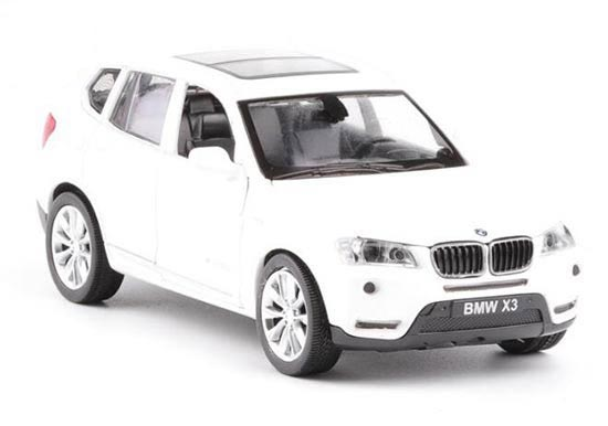 Kids 1:32 Scale Red / Orange Diecast BMW X3 Toy