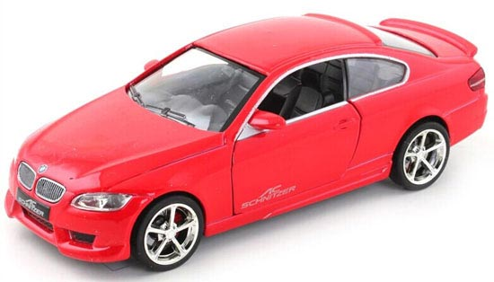 1:32 Scale Kids Red / White / Black / Blue Diecast BMW 335I Toy