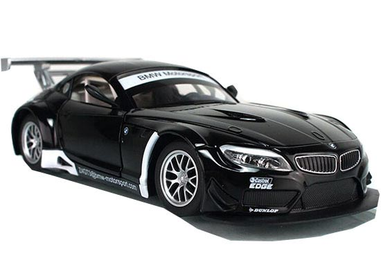 Black 1:24 Scale Diecast BMW Z4 GT3 Model