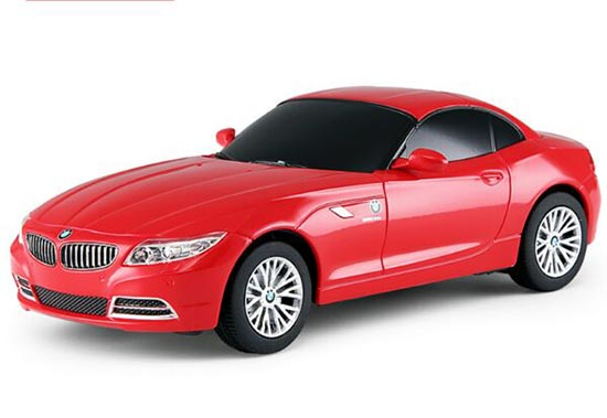 Red / Black 1:24 Scale Plastics R/C BMW Z4 Toy