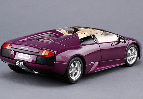 1 18 Yellow Purple Maisto Lamborghini Murcielago