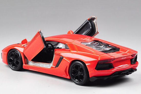 Lamborghini Aventador Purple And Orange