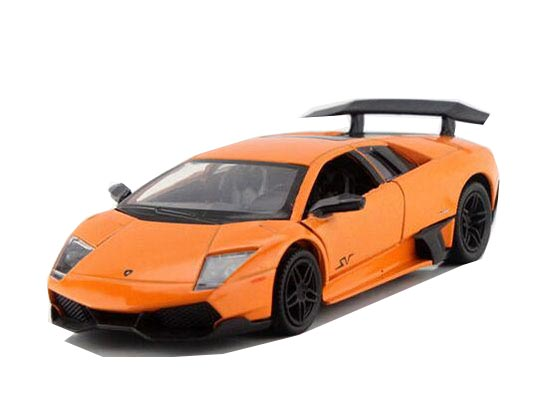 Kids 1:36 Yellow / White / Orange /Black Lamborghini LP670-4 Toy