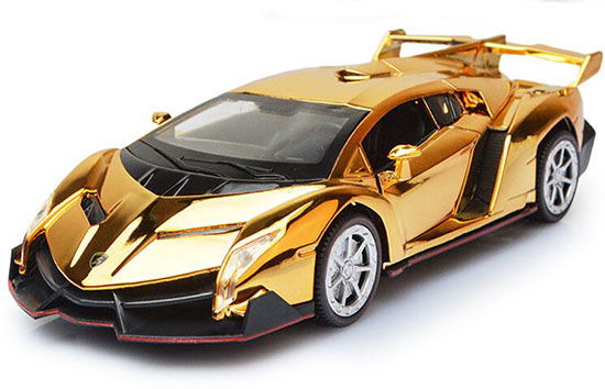 1 32 Kids Blue Red Purple Golden Diecast Lamborghini Veneno
