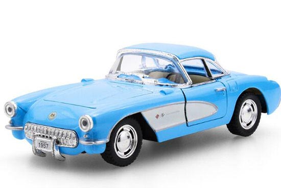 White / Red / Black / Blue Kids 1:36 Diecast 1957 Chevrolet Toy